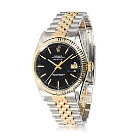 Rolex Datejust 1601/3 Men's Watch in 18kt Stainless Steel/Yellow Gold