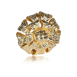 Tiffany & Co. Vintage Dahlia Brooch in 18K Yellow Gold