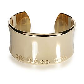 Tiffany & Co. Tiffany 1837 Cuff in 18K Yellow Gold