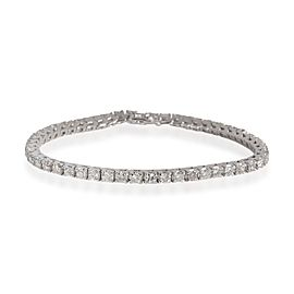Four Prong Diamond Tennis Bracelet in 14K White Gold 3.60
