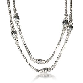 John Hardy Palu Necklace in Sterling Silver
