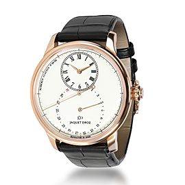 Jaquet Droz Grande Seconde Deadbeat J008033200 Men's Watch in 18kt Rose Gold