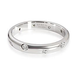 Tiffany & Co. Etoile Diamond Band in Platinum 0.10