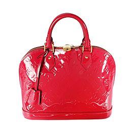 Louis Vuitton Rose Indien Monogram Vernis Alma PM