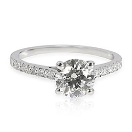 James Allen Diamond Engagement Ring in 14K White Gold I VVS2 1.45
