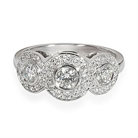 Tiffany & Co. Circlet Diamond Ring in Platinum 0.65