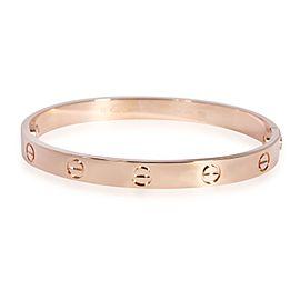 Cartier Love Bracelet in 18K Rose Gold