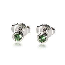 Tiffany & Co. Elsa Peretti Color by the Yard Peridot Studs in Sterling Silver