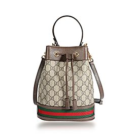 Gucci GG Supreme Ophidia Small Bucket Bag
