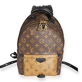 Louis Vuitton Monogram & Monogram Reverse Canvas Palm Springs PM Backpack