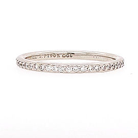 Michael B. MB1-40-105-01 Platinum Diamond Ring