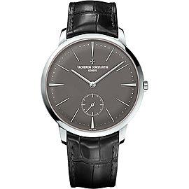 Vacheron Constantin Patrimony 950 Platinum & Leather with Grey Dial 42mm Mens Watch