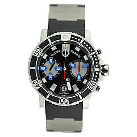 Ulysse Nardin Maxi Marine Diver Chronograph on Rubber Strap 42mm Watch