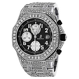 Audemars Piguet Royal Oak Offshore Black Dial Diamonds Watch