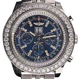 Breitling A4436412 For Bentley 6.75 Diamonds Bezel Watch