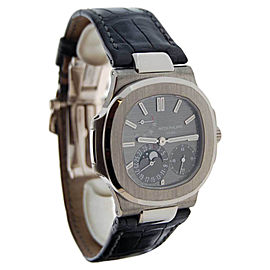 Patek Philippe Nautilus 5712G 18K White Gold Automatic Mens Watch