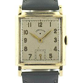 Elgin Vintage 24mm Mens Watch
