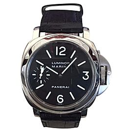 Panerai Luminor Marina PAM00111 Steel 44mm Watch
