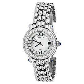 Chopard 27/8236-23 Diamonds Happy Sport Stainless Steel Watch