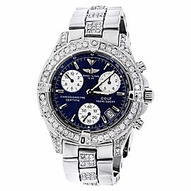 Breitling Colt Chronograph A73350 Stainless Steel & 6 ct. Diamond Watch