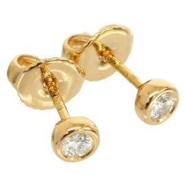 Tiffany & Co. 18K Rose Gold Enhanced Diamond by the Yard C7933 Earrings