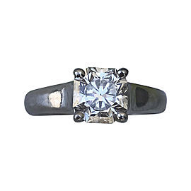 Tiffany & Co. Platinum 1.33 Ct Lucida Diamond Engagement Ring