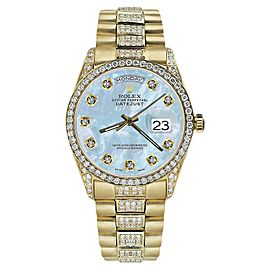 Rolex Day Date 18K Yellow Gold 36mm Mens Watch