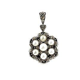 John Hardy Sterling Silver Pearl Pendant