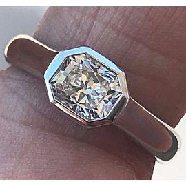 Tiffany & Co. Lucida Platinum Diamond Engagement Ring Size 7.5