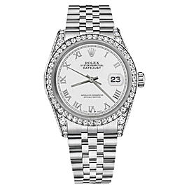 Rolex Datejust Stainless Steel with White Mother of Pearl Dial 31mm Unisex Watch