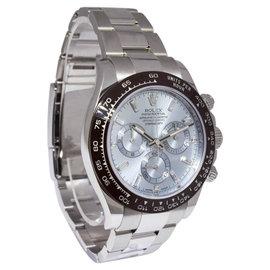 Rolex Daytona 116506 Platinum with Blue Diamond Dial Automatic 40mm Mens Watch 2016