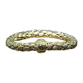 Chimento Ofidio 18K Yellow & Rose Gold with 0.03ct Diamonds 2 Bangle Bracelet Set