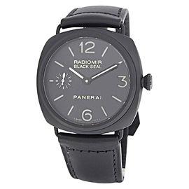 Panerai Radiomir Black Seal PAM00292 Stainless Steel & Ceramic Manual 45mm Mens Watch