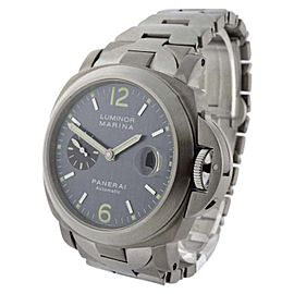 Panerai Luminor Marina PAM 91 Titanium Automatic 44mm Mens Watch