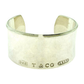 Tiffany & Co. 1837 925 Sterling Silver Cuff Bracelet