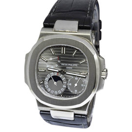 Patek Philippe Nautilus 5712G-001 18K White Gold Automatic 40mm Mens Watch