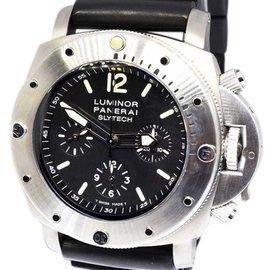 Panerai Luminor Slytech PAM00202 Titanium Automatic 47mm Mens Watch