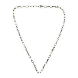 Cartier Santos de Cartier 18K White Gold Chain Necklace