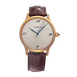 Alexei Rose Gold Four Numerals 112WA198/3 40mm Mens Watch