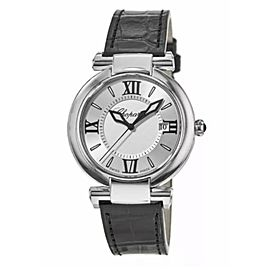 Preowned Chopard Imperiale 36mm Steel Leather Strap Watch