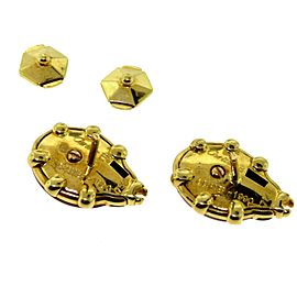 Cartier Yellow Gold and Enamel Ladybug Dual Purpose Brooch or Earring Set, 1990