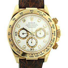 Rolex Daytona 16518 39mm Mens Watch