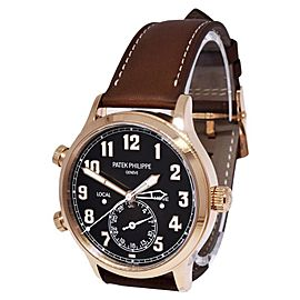 Patek Philippe Pilot Travel Time 5524R 42mm Mens Watch