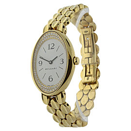 Bulgari Oval OV 32 G 23mm Womens Watch
