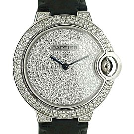 Cartier Ballon Bleu 3492 33mm Womens Watch