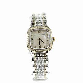 David Yurman Thoroughbred T3144QSS8 25mm Womens Watch
