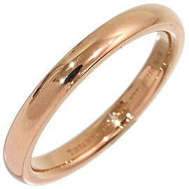 Tiffany & Co. 18K Rose Gold Wedding Ring Size 6.25