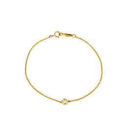 Tiffany & Co. Elsa Peretti Diamonds by the Yard Bracelet 0.08ct