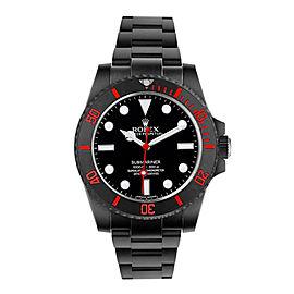 Rolex Rolex Ceramic Submariner 114060 DLC-PVD Black 40mm 114060