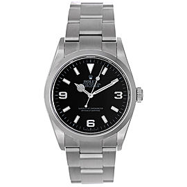 Rolex Explorer I 114270 Stainless Steel 36mm Mens Watch